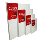 Wholesale high quality blank artist stretched canvas for Studio Painting
