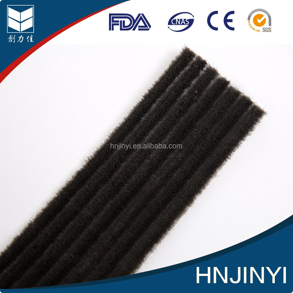 Silicone PP Material Brush Pile Weather Strip