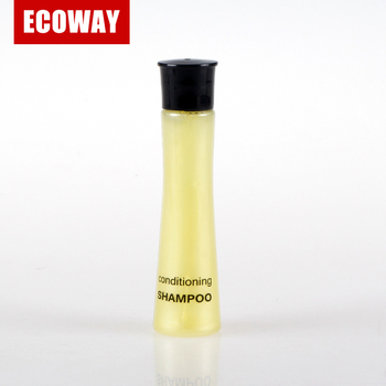 exquisite disposable hotel amenity 30 ml shampoo and empty bottle