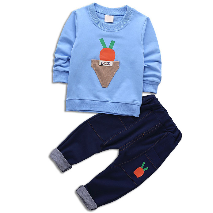 2019 mode coton casual enfants vêtements ensembles