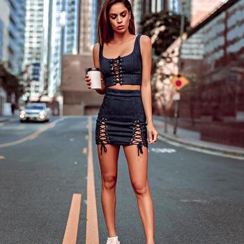 mini sexy skirts women/