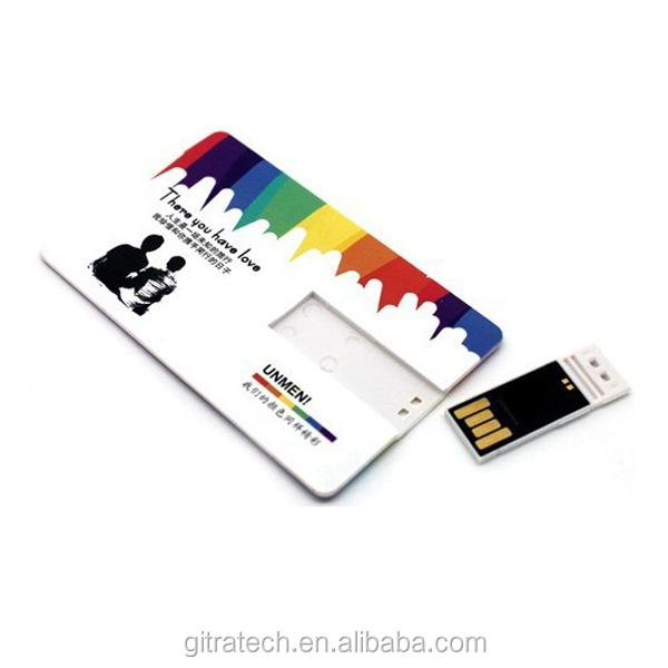cfa0ae29373 Top seller  1 USD Push-Plug Plastic Card Custom logo 4gb 8gb 2.0 USB Flash