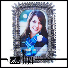 Frosted glass photo frame/hd design photo frame1108-037