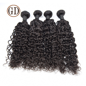 cheap price good review top grade no tangle full cuticle curly malaysian 100 human hair