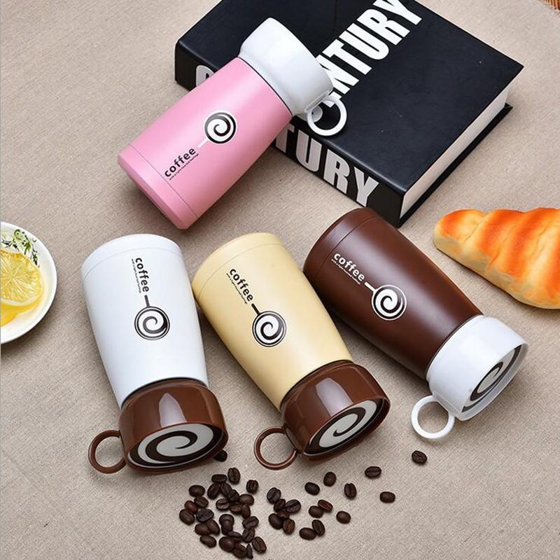 การแข่งขันราคาอาหรับ 260ml กาแฟ THERMOS ถ้วยจับด้านข้างสำหรับขาย