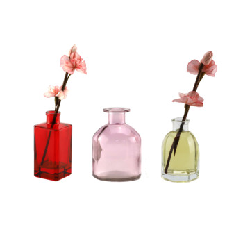 hot sale glass bottle aroma reed diffuser home perfume with custom gift box