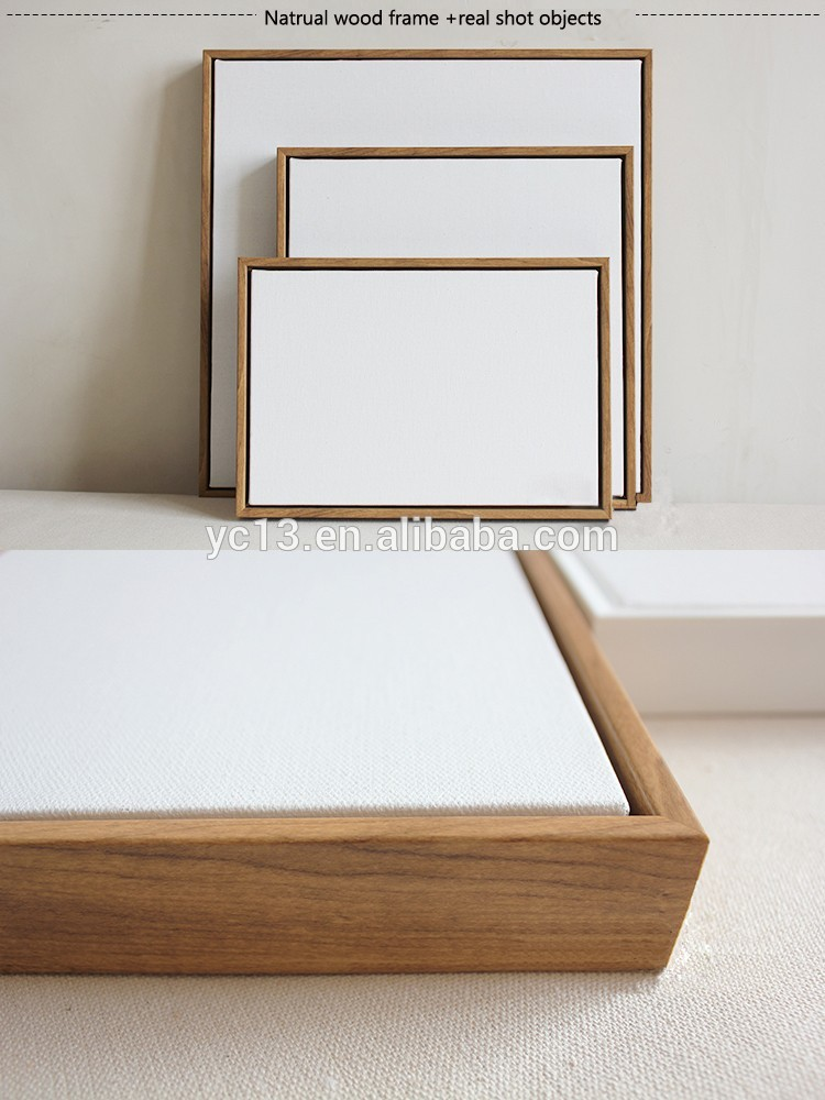 Framed Linen Blank Mini Stretched Canvas For Paintings With Many ...