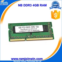 Top consumable products 4 gb ddr3 notebook memory