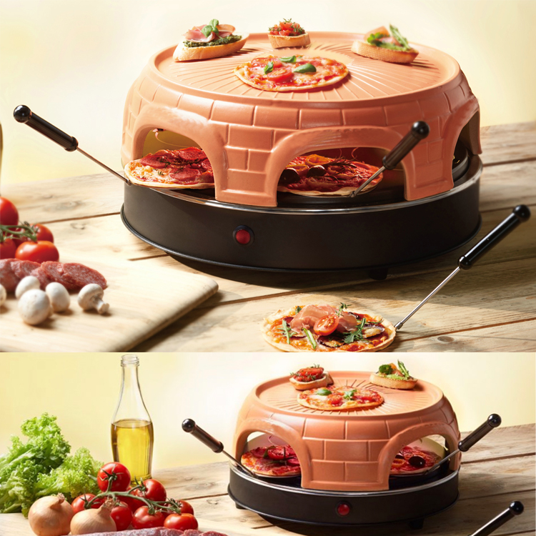Keeping Warm Grill Electric Pizza Oven for 4 persons