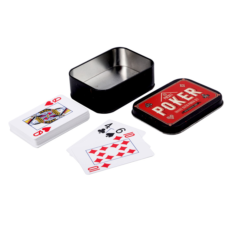 Custom printed family role playing learning unique poker spelling card game for adults kids