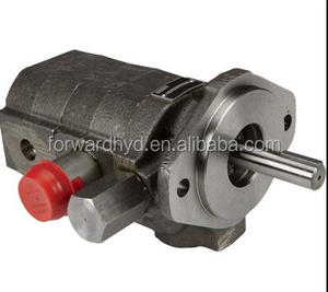 hydraulic double gear pump for log splitter and saw machine