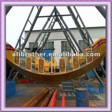 2012 super cool and funny playgroud equipment pirate ship