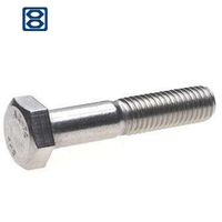 hex bolt, bolt and nut
