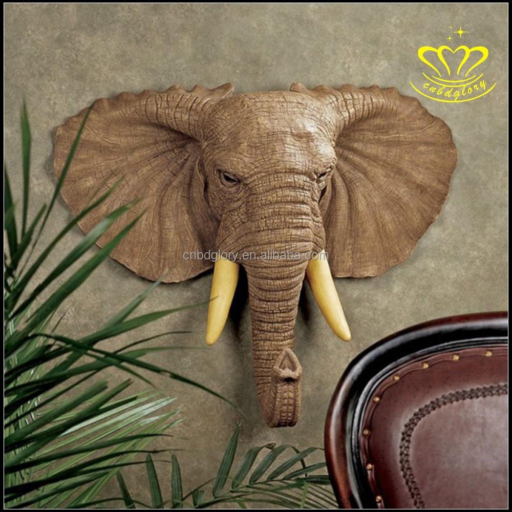 T te d 39 animal supports muraux pour la maison d coration - Tete d animal murale ...