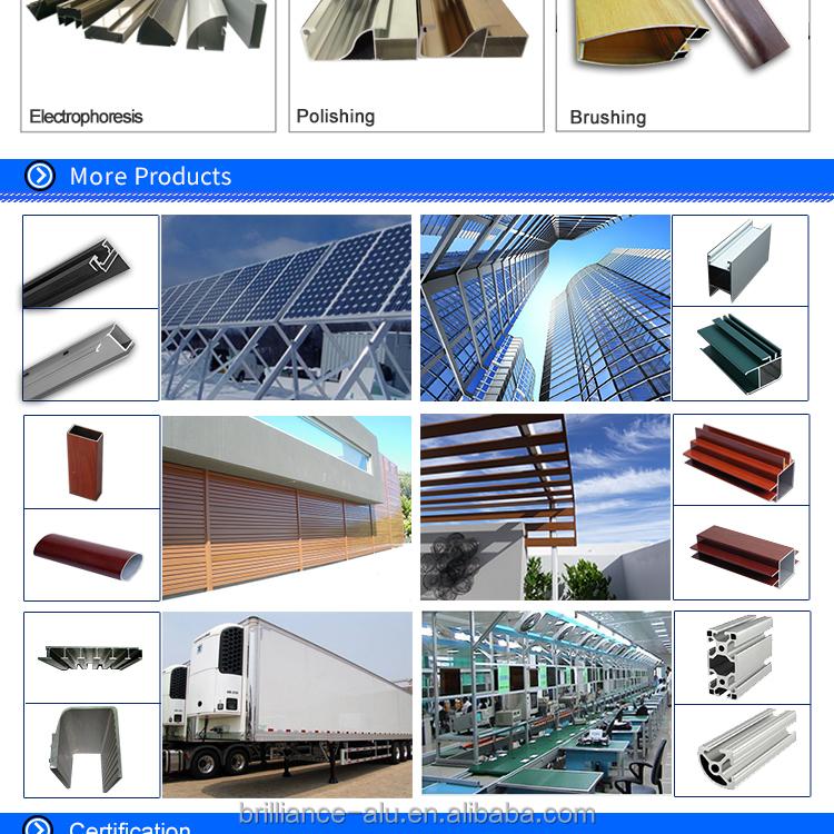 Brilliance Manufacture Architecture Anodized Aluminum Window ...