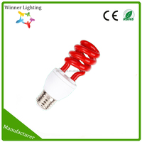 Oem Spiral Colored Mosquito Repelling Energy Saving Bulb Lamp Fluorescent Lighting
