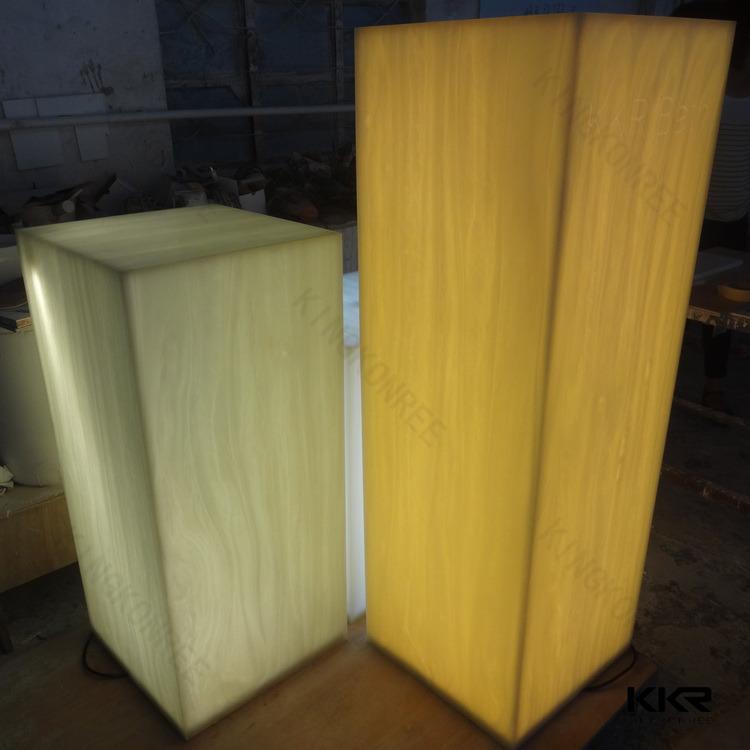 Translucent Resin Panels : Translucent acrylic resin panels nice led light
