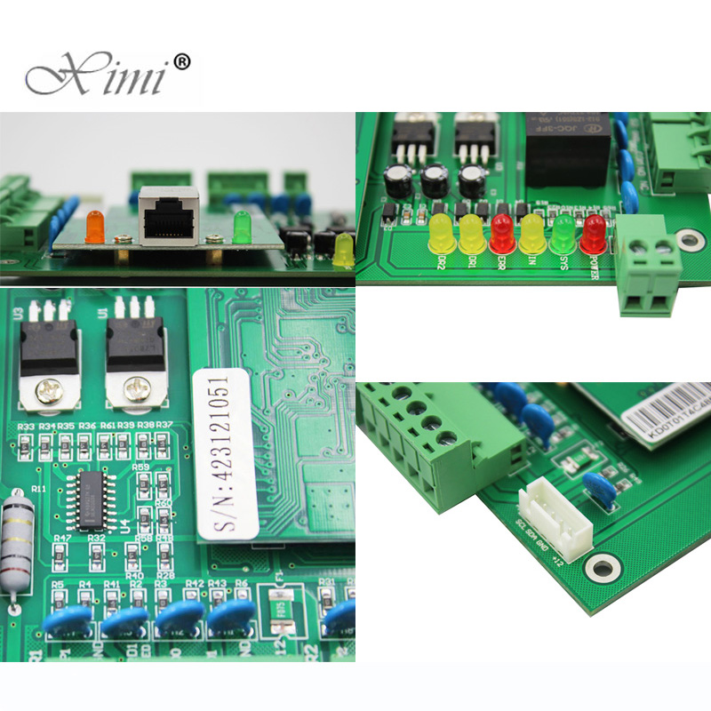 Reasonable Two Door Access Control Panel Access Control Board Tcp/ip 2 Doors Access Control System With Power Supply Box Battery Function Fine Quality Security & Protection