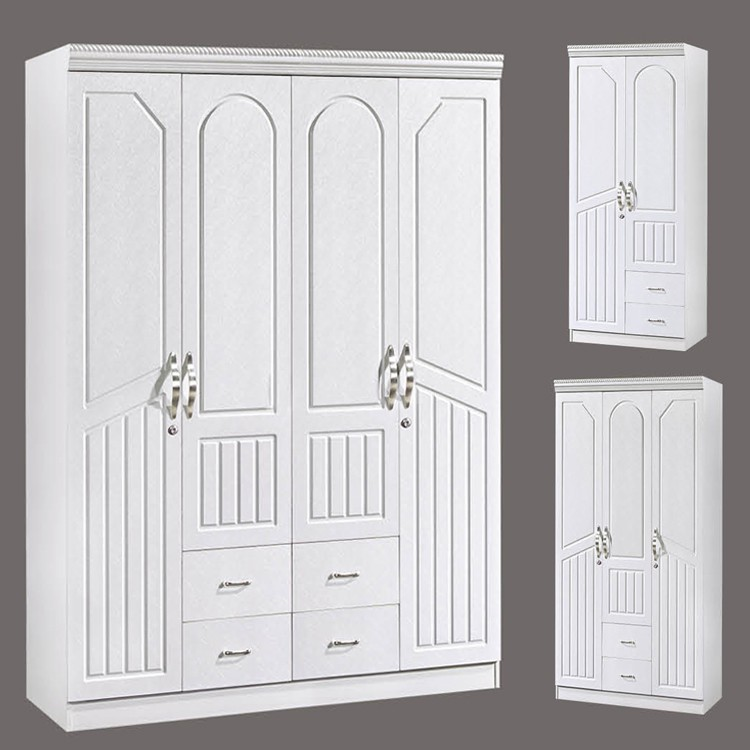 cheap wholesale bedroom furniture 4 door storage hotel wardrobe buy