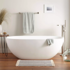 Round Cheap Bathroom Freestanding Soaking Baby Acrylic Bathtub