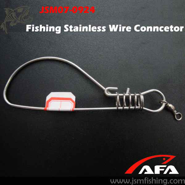 Hot Sale!Snap Fishing Wire Connector swivel,fishing tackle,fishing equipment