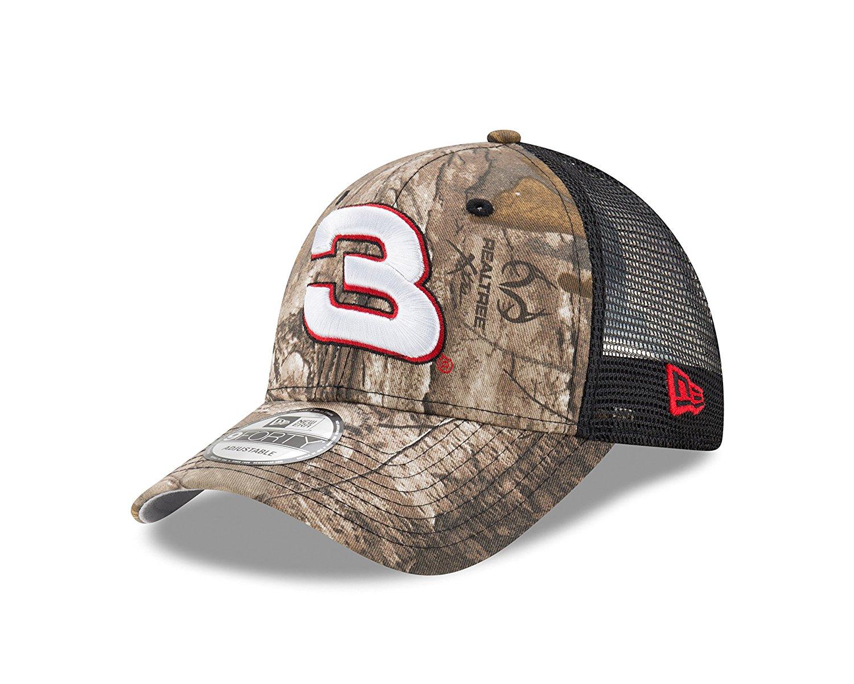 Get Quotations · New Era NASCAR Realtree Camo 9Forty Adjustable Trucker Cap 9cbf954a1784