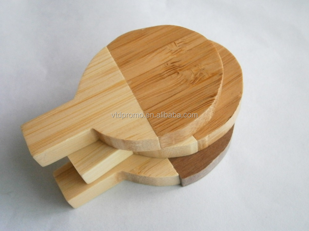 Wooden racket pen drive, table tennis racket usb flash drive pen drive
