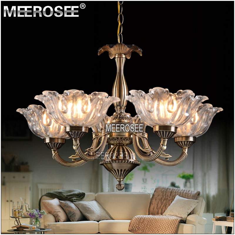 Flower plate glass chandelier america decorative lights country flower plate glass chandelier america decorative lights country style chandelier md2182 l5 aloadofball Image collections