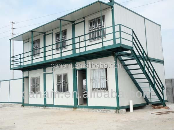 CANAM-Stilt mounted high-quality two-storey prefab house for sale