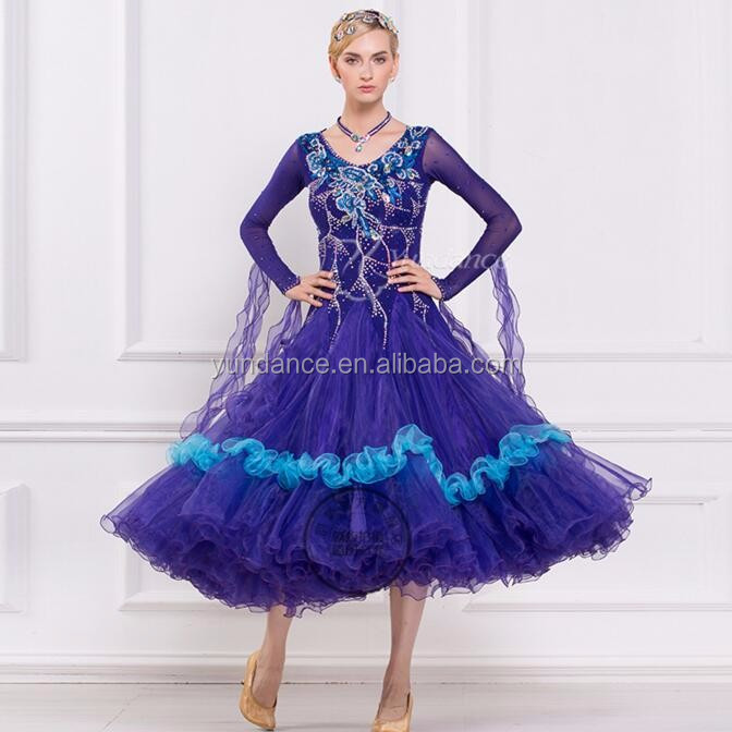 Custom Made Ballroom Dance Competition Dress, Custom Made Ballroom ...