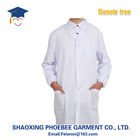 Doctor white gown, experimental clothing, pharmacy work clothes, medical coat gowns wholesale custom-made