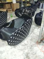 2015 High quality cheaper shampoo chair ZY-2014M black color