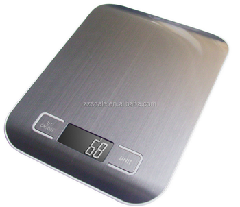 New Precision Slim Electronic Household Kitchen And Food Scale, Mini 5kg Digital Stainless Steel Kitchen Scale