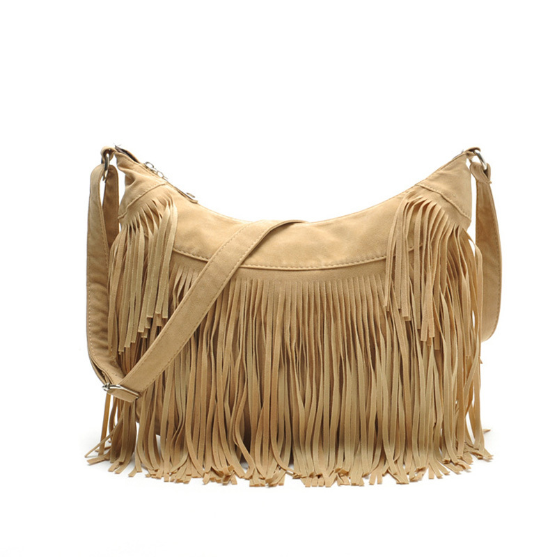 Get Quotations New Women S Bags Tassel Shoulder Messenger Bag Las Fringe Crossbody Sac A Main Femmes 2017
