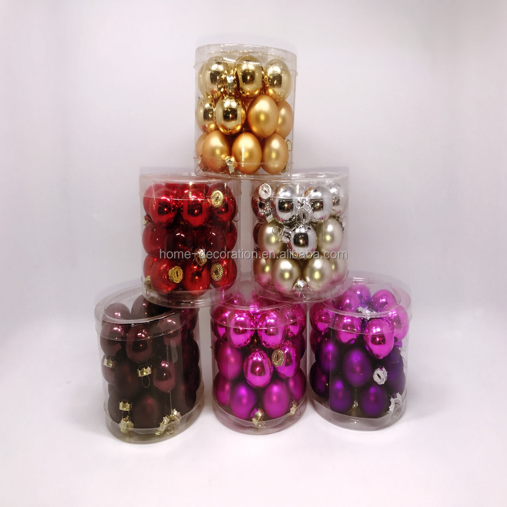 China cheapest supplier murano glass ball in tube pack