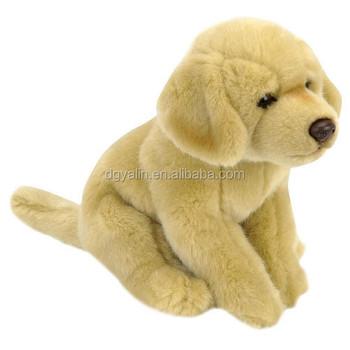 Real Looking Sitting Small Plush Dog Toys Plush Animal Toy Buy