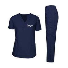 Commercio <span class=keywords><strong>all</strong></span>'<span class=keywords><strong>ingrosso</strong></span> Scollo A V unisex infermiera uniforme <span class=keywords><strong>medico</strong></span> <span class=keywords><strong>scrubs</strong></span>