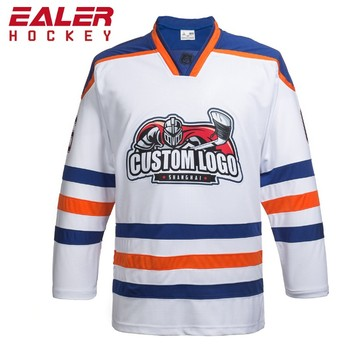 b437081e7 3% Order Discount Design Make Your Own Team Ice Hockey Uniforms Embroidered  Custom Hockey Jersey