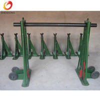 Heavy Duty 20 Ton Hydraulic Cable Drum Jack Cable Stands