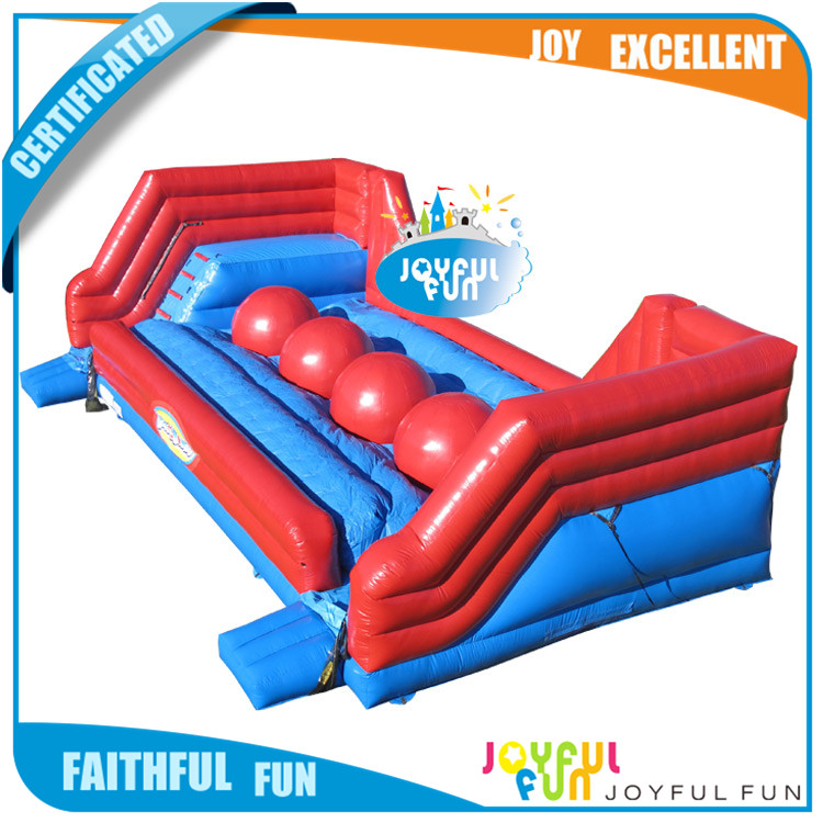 2017 new design Customized inflatable water obstacle course kids floating obstacle