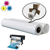 digital printable waterproof inkjet coated glossy matte pp film paper roll synthetic polypropylene paper for printing