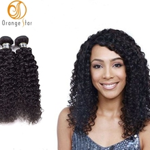Wholesale Hair Weave Distributors Peruvian Hair Jerry Curly Hairstyles Natural Color