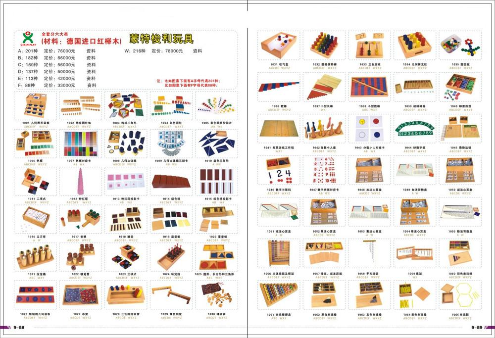 Chinese Factory Full Set Montessori Teaching Materials Montessori Toys  Furniture For Montessori School - Buy Montessori Toys,Montessori Materials  In