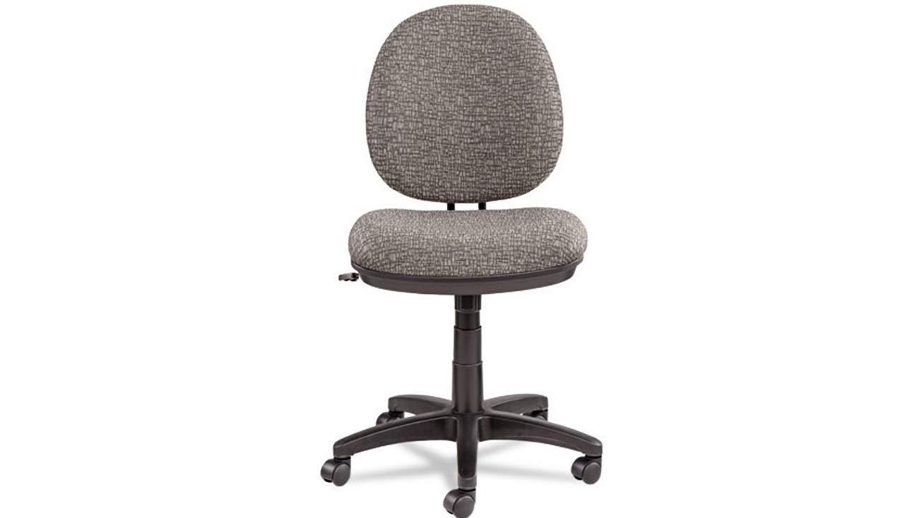 Task Chair Alera Interval Swivel Tilt Tone-On-Tone Fabric, Graphite Gray K&A Company