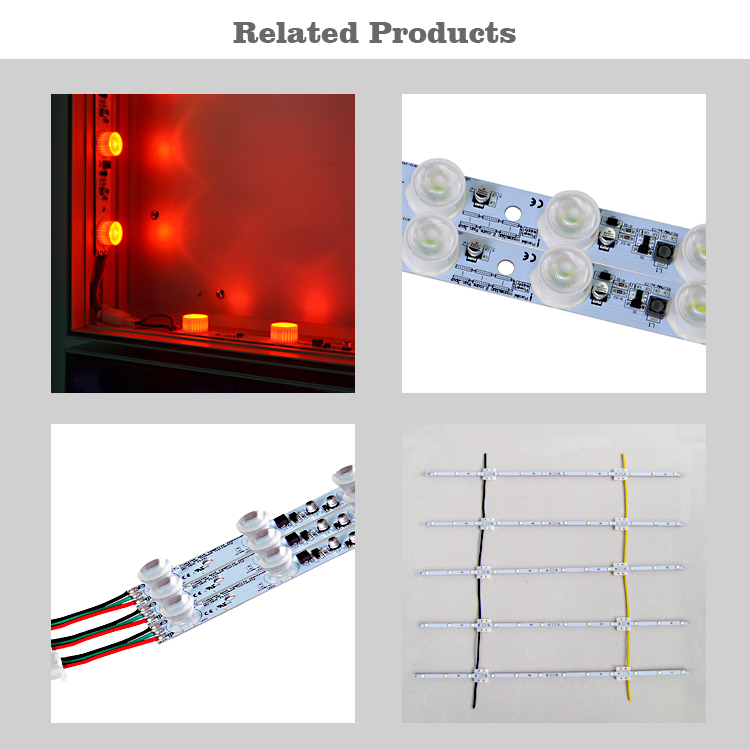 Dimbare rgb module led backlit