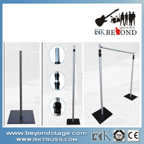 Portable Stage Curtain Stand Pipe And Drape