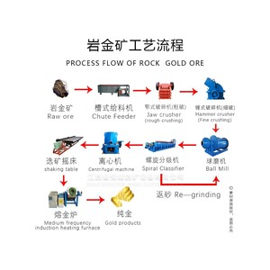 Small Scale Gold Processing Plant Gold Mining Equipment, Rock Gold Processing Plant