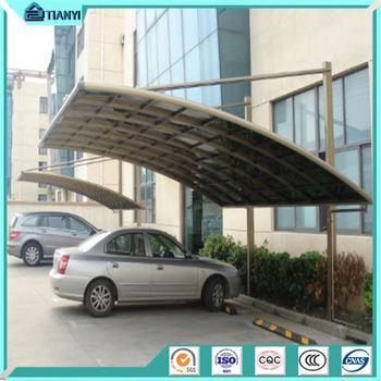 pemeliharaan gratis aluminium carport dengan polikarbonat atap pergola