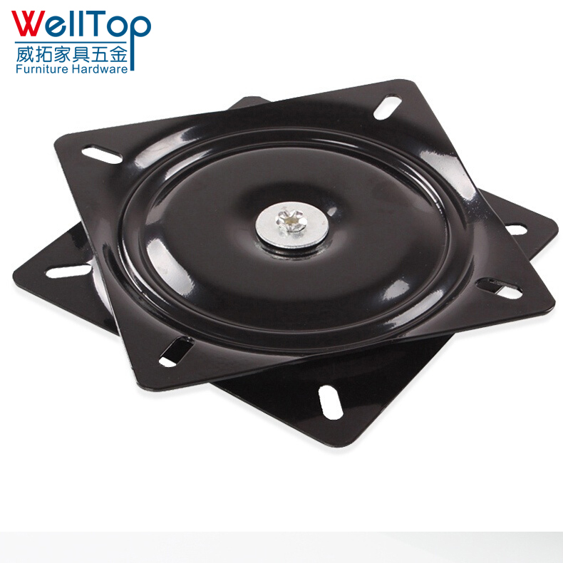 Strict 4 Inch Square Rotating Swivel Plate Replacement Metal Lazy Susan Bearing Turntable Tv Rack Desk Seat Swivel Plate Bar Tool Furniture Parts