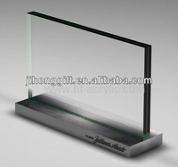 high quality acrylic menu holder/acrylic menu holder/stand